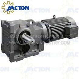 K107 KA107 KF107 Right Angle Helical-Bevel Gearmotor and Reducer