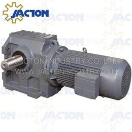S77 SF77 SA77 Hollow shaft helical worm geared motors SAF77 SAT77