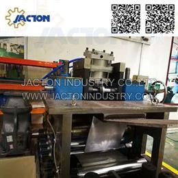 Three in one decoiler straightener feeder machine