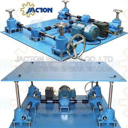 Worm gear screw jack lifting platform jacking system