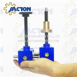500 lbs Capacity Worm Gear Mini Machine Screw Jack