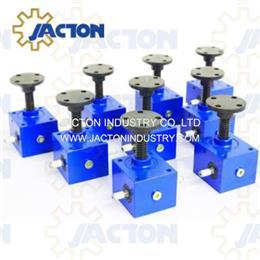 2000 lbs Capacity Machine Screw Jack Worm Gear Actuator