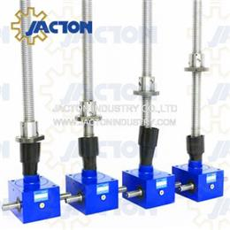 50 kN Capacity Higher Lifting Speeds Screw Jacks with Ball Screws