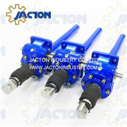 25 kN Capacity Worm Gear Screw Jacks with Trapezoidal Screw