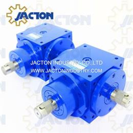 JTP140 Gear Boxs 90 Degrees Right Angle 1 To 1 Ratio Gearbox