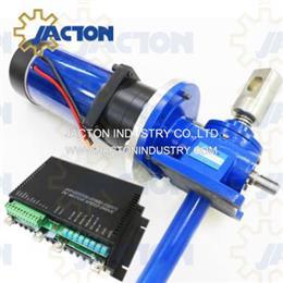 5 ton 24vdc jack screw 10 inch motorized screw lift jack 24 1 ratio