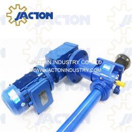 10 ton single phase 220v electric motor screw jack gear reducer 1m