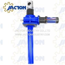 24v acme screw worm jacks 25 ton 700mm heavy duty electric actuators