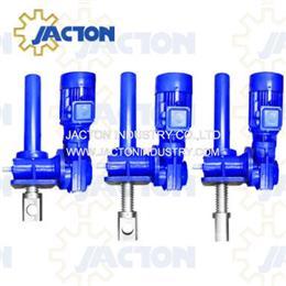 25 tons gear driven motorised screw jacks 500mm motorized screw lifts