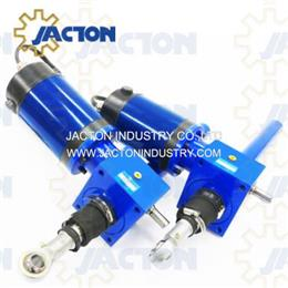 dc motorized screw jack lifting 25 kN electric power jacks actuators