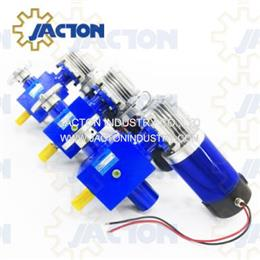 25 kN worm electric screw lift jacks 50 mm rise electric powered jack