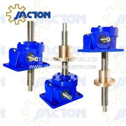 980 kN Capacity Machine Screw Jack Lift, 100 Ton Worm Gear Screw Jack