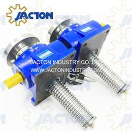 Screw Jack 50 Ton Capacity, 50 t Machine Screw Mechanical Actuator