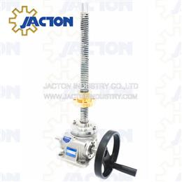 Complete stainless steel screw jacks 1-ton meet the harsh requirements