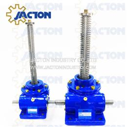 200 kN Capacity Screw Jack Worm Gearbox