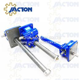 735 kN Capacity Machine Screw Jack Lift, 75 Ton Worm Gear Screw Jack
