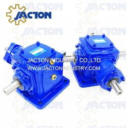 JT25 Bevel Right Angle Gearboxes 3 Shafts Gearbox