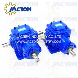 JT45 Highly Efficient Spiral Bevel Gears Right Angle and T Drive