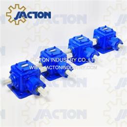 JT85 Heavy Duty 90 Degree Angle Spiral Bevel Gear Boxes