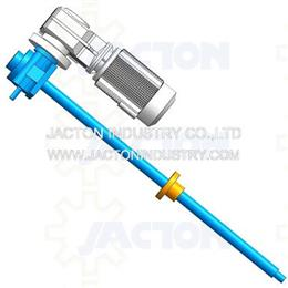 5t screw jack traveling nut 915mm 0.55kw KF37 gear motor 3d cad model