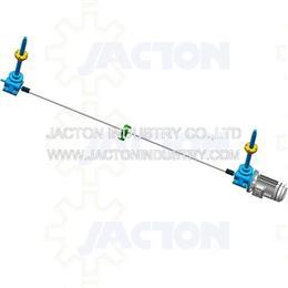 5 ton travelling nut actuators 1.1kw 6pole motor flange 3d cad model