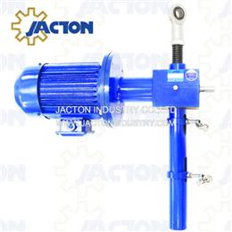 5 tons motorised worm gear lifting jack 44inch with dual speed motor