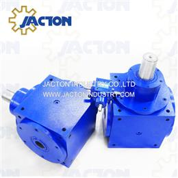 JTPH90 hollow shaft 90 degree drive,3 way hollow shafts gearboxes