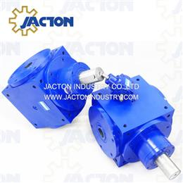 JTPH140 keyed hollow shaft spiral bevel gearboxes