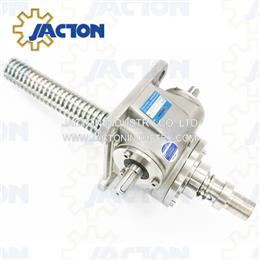 Stainless Steel Machine Screw Jacks 2.5 Tons In Corrosive Environments