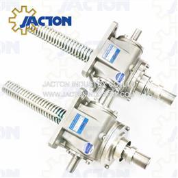 Stainless Steel Machine Screwjack Actuator 5-Tons Foodstuffs Industry