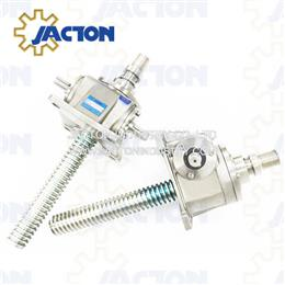 Stainless steel machine screw jacks 10-tons in arduous environments