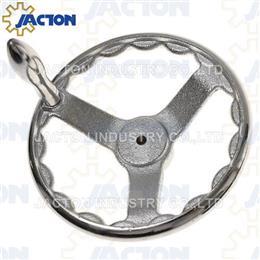 Iron Hand Wheel Crank with Handle - Screw Jack Systems