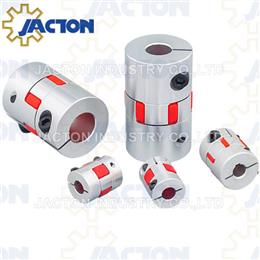 Alu. Elastomer Jaw Coupling or Spider Couplings - Screw Jack Systems