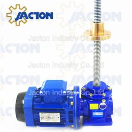 Selection Guide of JTM Series Machine Screw Jacks