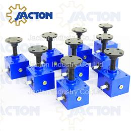 10kN Cubic Worm Gear Screw Jack - Rotating and Translating
