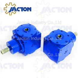 40Nm 1500RPM double hollow bore right angle drive
