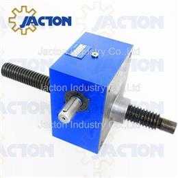 100kN high force lifting cubic screw jacks, mechanical screw jack