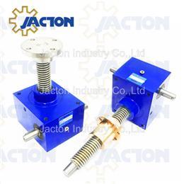 150kN compact cubic jack, worm screw jack actuators
