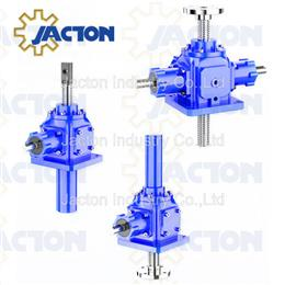 15000KG bevel gear lifting mechanism, bevel gear screw jack
