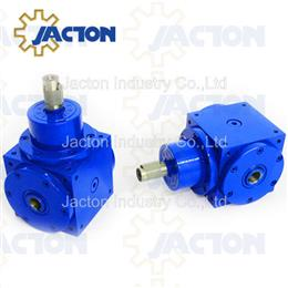 70Nm hollow bore miter box, right angle gear box with bevel gears