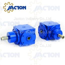 23.9KW 150Nm right angle bevel bore gearbox hollow shafts