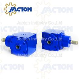 39.3KW 250NM hollow bore right angle drive, 90deg gear drive