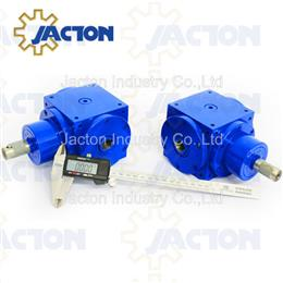 67.5KW 450Nm right angle hollow bore gear box, hollow angle drives