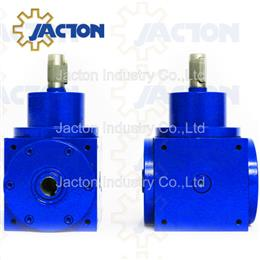 90.5KW 650NM 90 degree hollow drives, hollow shaft 90 degree drive