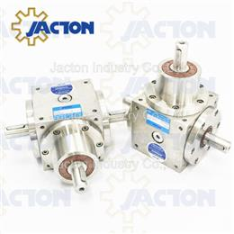 70NM stainless steel 3 way 1 to 1 ratio transmisions,90 degree gearbox
