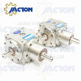 150NM power transmission stainless steel gear box with 90degree output