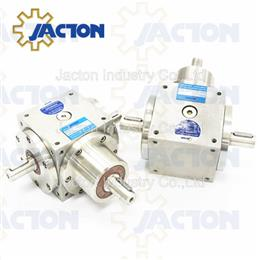 250NM stainless steel gear box ratio 1 to 1, bevel gear reducer
