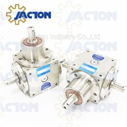 450NM stainless steel 90 degree bevel gearbox, bevel gears drive