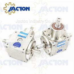 650NM stainless one input drive to two or three output drives gearbox