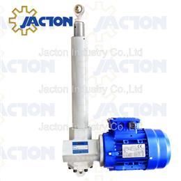 1-4KN electric linear screw jack actuator, screw pull motor gear